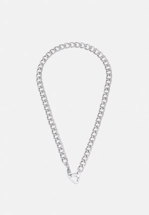 FIXTURE CLASP CLOSURE NECKLACE - Ketting - silver-coloured
