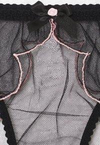 Agent Provocateur - LORNA BRIEF - Underbukse - black/pink - 2