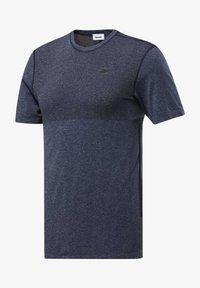 Reebok - T-shirt print - blue - 0