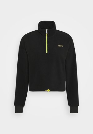 TREKKER QUARTER ZIP - Fleece jumper - caviar