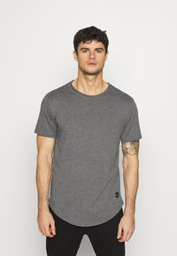 Only & Sons - MATT 7 PACK - T-shirt basic - dark grey melange/dark blue/dark green/beige/dark red - 5