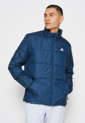 BASIC 3 STRIPES INSULATED - Giacca invernale - crew navy