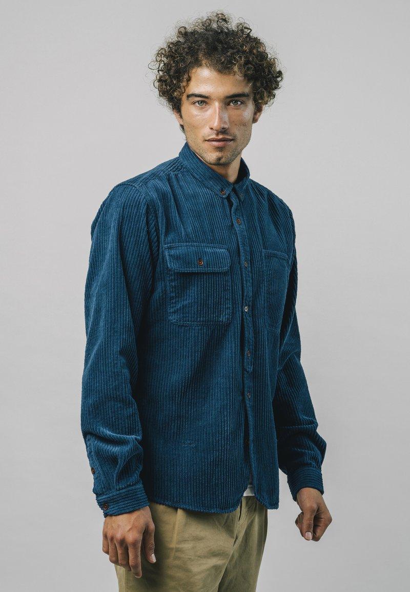 Brava Fabrics - LUMBERJACK ESSENTIAL - Shirt - blue