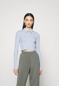 Weekday - ERIN - Polo shirt - light blue - 0