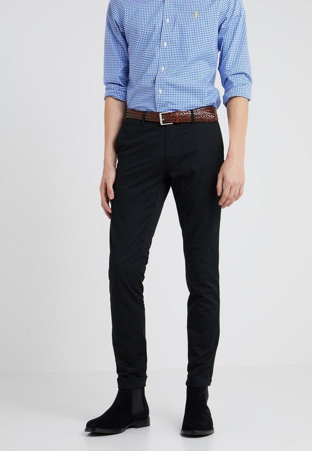 TAILORED PANT - Pantalones chinos - black
