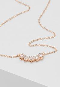 Swarovski - SUNSHINE NECKLACE - Ketting - rose gold-coloured/transparent - 5