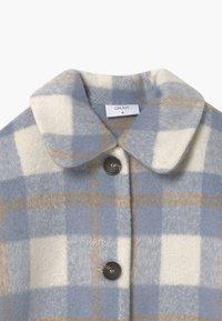 Grunt - BOUCLE - Zimní kabát - blue check - 3