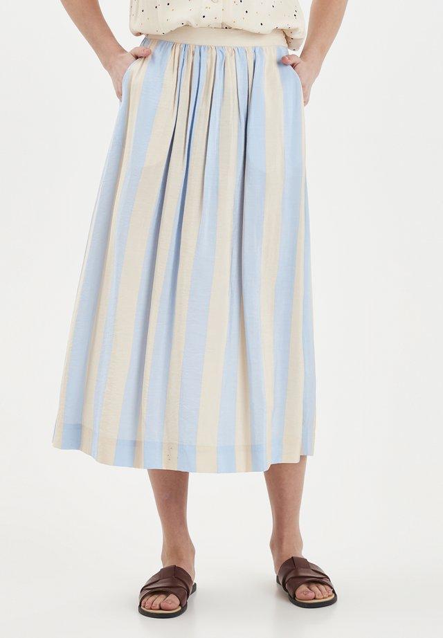 A-line skirt - cashmere blue