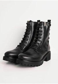 NeroGiardini - Lace-up ankle boots - nero - 2