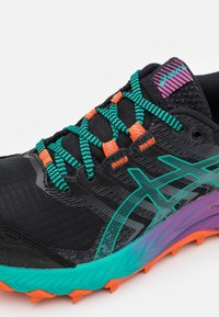 ASICS - GEL-TRABUCO 9 - Scarpe da trail running - black/baltic jewel - 5