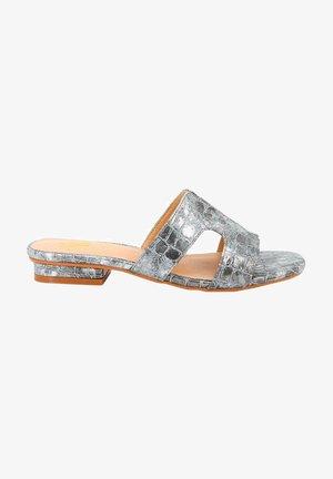GRACE - Mules - silver