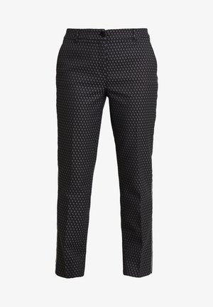 ELSI BABYLON - Trousers - slate grey melange