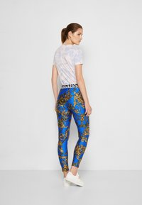 Versace Jeans Couture - PANTS - Leggings - blue/gold - 2