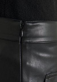 NA-KD Tall - POCKET DETAIL SKIRT - Minigonna - black - 4
