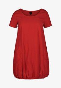 Zizzi - Day dress - red - 3