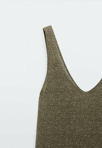 Massimo Dutti - Jumper dress - khaki - 2