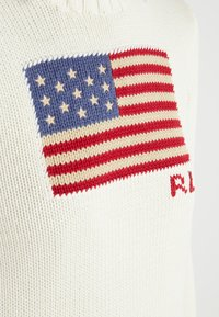 Polo Ralph Lauren - FLAG - Jumper - cream/multi - 4