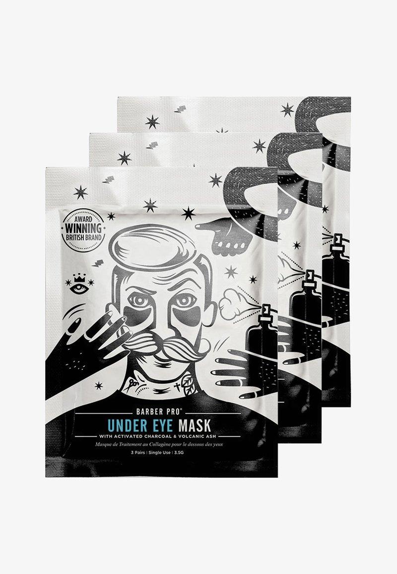 Barber Pro - UNDER EYE MASK 3 X 3,5G - Face mask - -