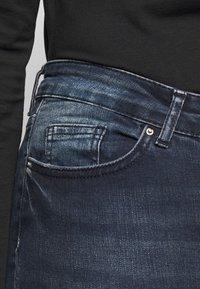 Pieces Curve - PCDELLY  - Jeans Skinny Fit - dark blue denim - 5