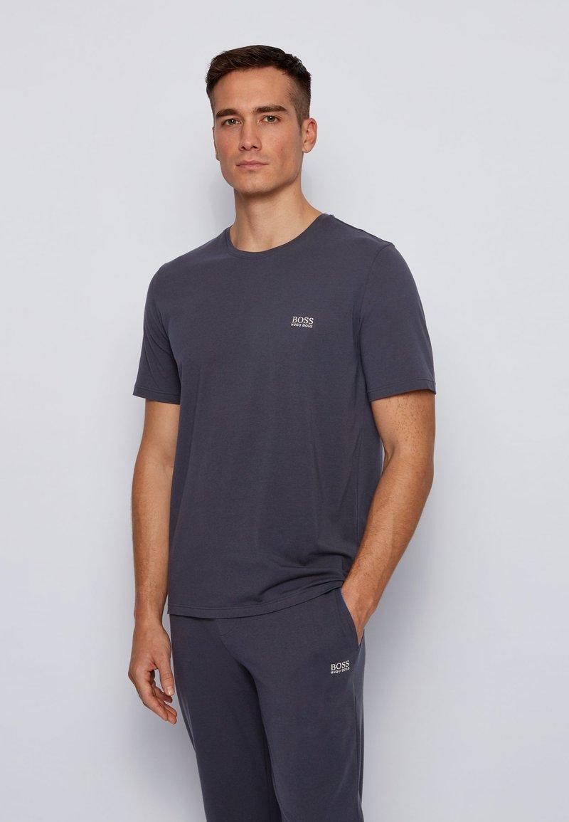 BOSS - MIX&MATCH T-SHIRT - Pyjama top - dark blue