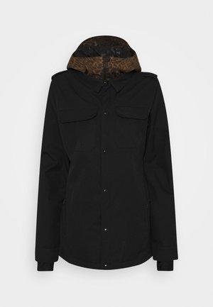 KUMA JACKET - Snowboard jacket - black
