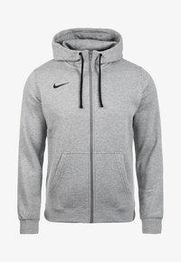 Nike Performance - CLUB19 HERREN - Zip-up hoodie - dark grey - 0