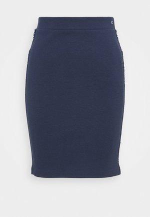 BODYCON SKIRT - Mini skirt - twilight navy
