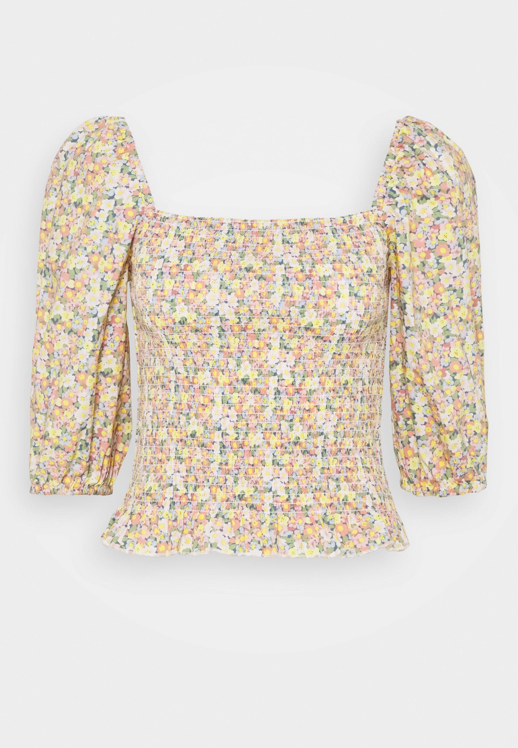 Women ONLJOJO MARK FLOWER SMOCK - Long sleeved top
