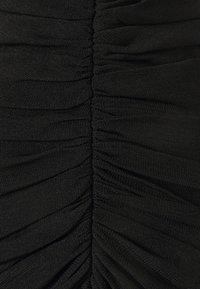 Hervé Léger - CAMISOLE DRAPED DRESS - Sukienka koktajlowa - black - 5