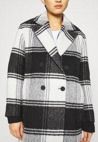 AllSaints - LOTTIE CHECK COAT - Classic coat - black/white - 6