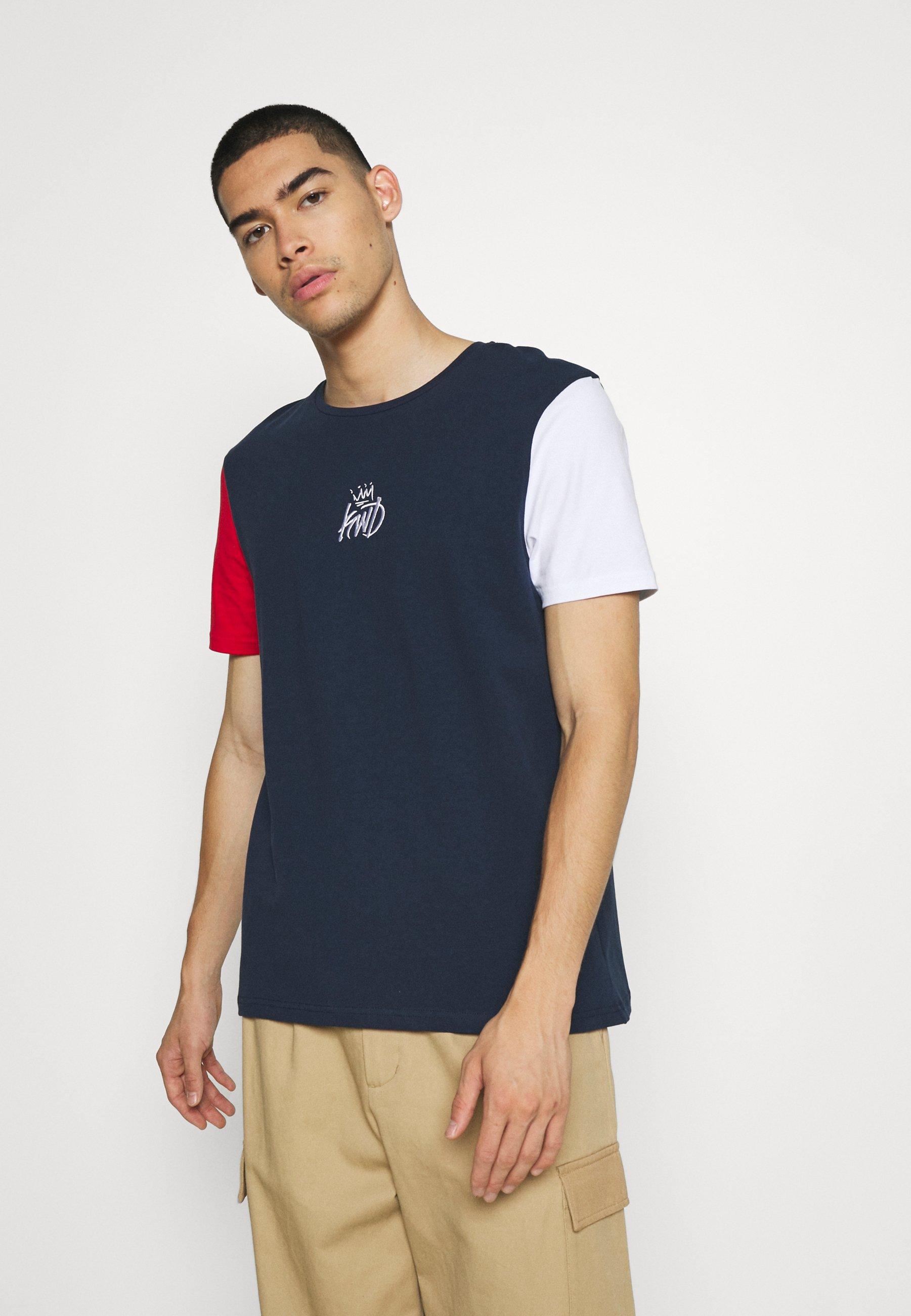 Homme CANON TRI COLOUR TEE - T-shirt imprimé