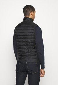 Calvin Klein - LIGHT WEIGHT SIDE LOGO VEST - Waistcoat - black - 2