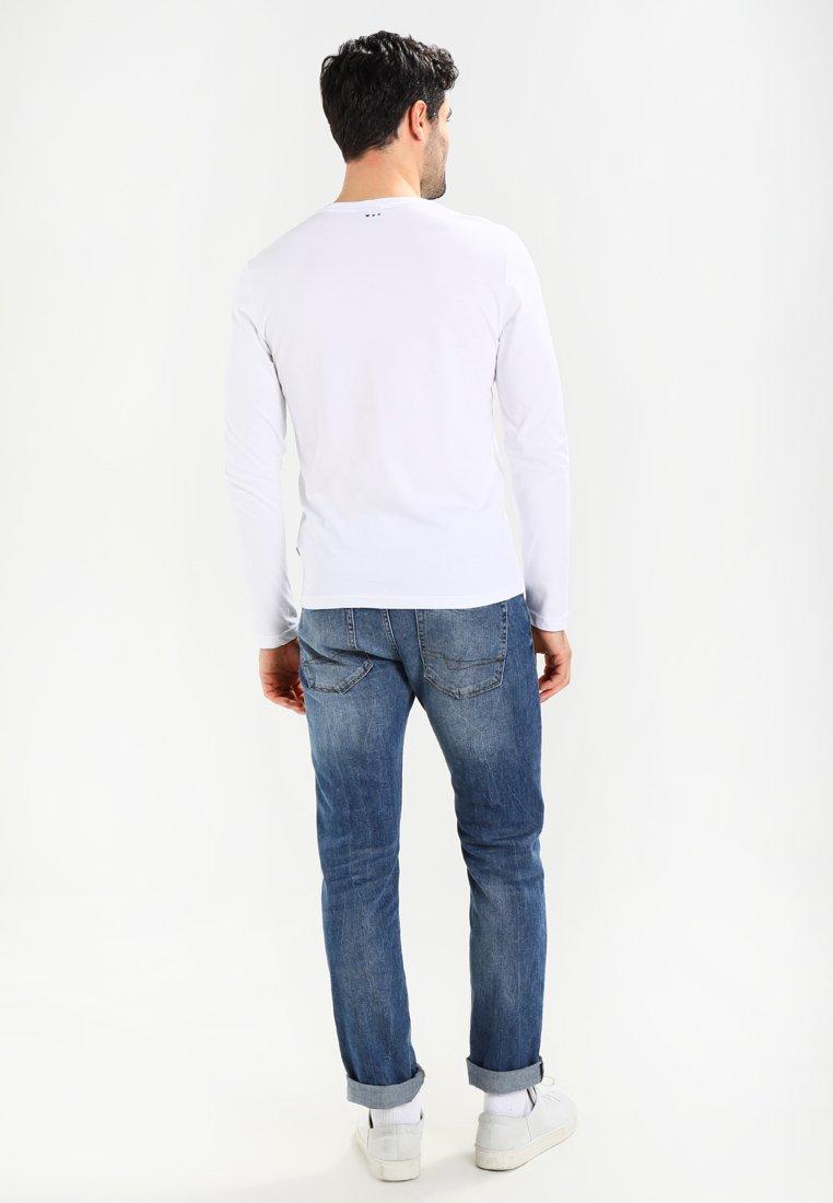 Napapijri SENOS LS - Langarmshirt - bright white/weiß KsvG02