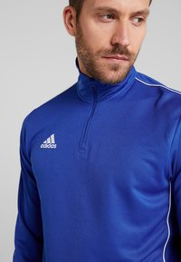 adidas Performance - CORE 18 TRAINING TOP - Sports shirt - boblue/white - 3