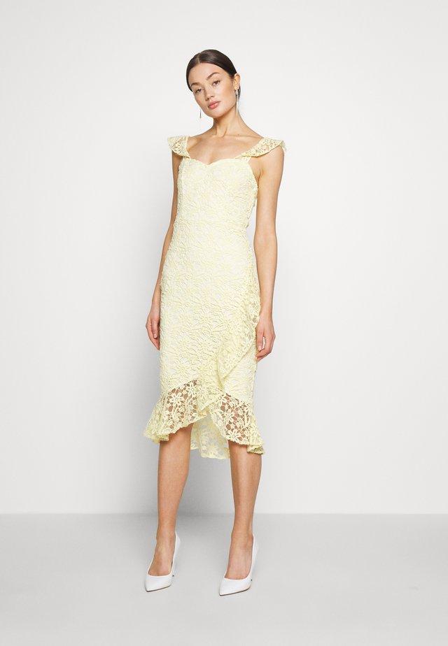 TRUE LOVE DRESS - Cocktail dress / Party dress - light yellow