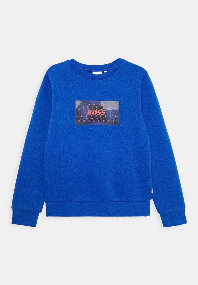 Sweatshirt - electric blue
