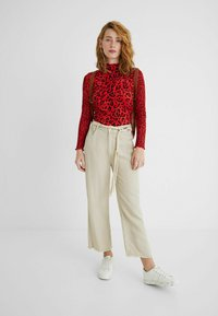 Desigual - Long sleeved top - red - 1