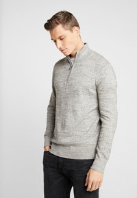 GAP - MOCK NECK - Jersey de punto - medium grey - 0