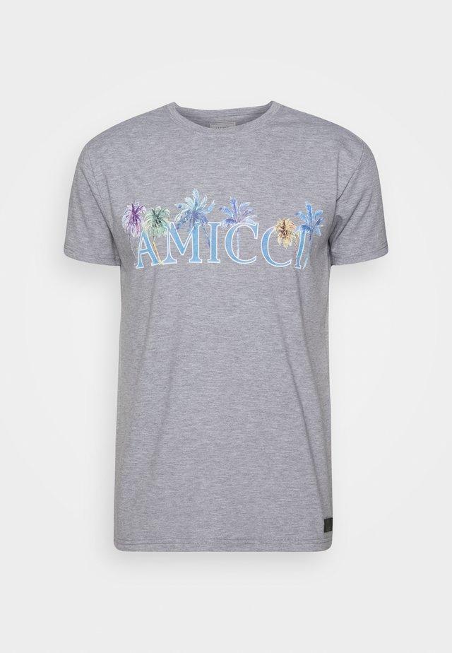 FLORENCE - Print T-shirt - grey