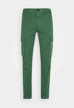WASHED PANT - Cargo trousers - duck green