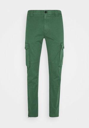 WASHED PANT - Pantaloni cargo - duck green