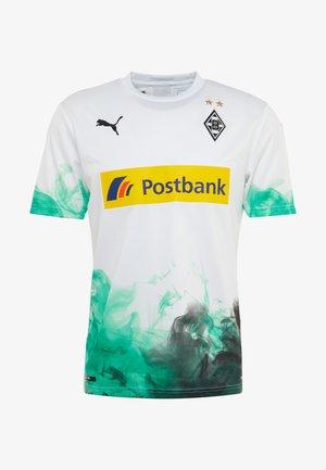 BORUSSIA MÖNCHENGLADBACH HOME REPLICA WITH SPONSOR - Club wear - white
