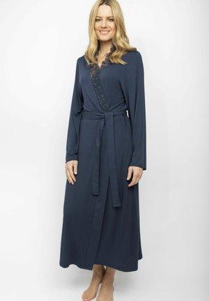 MORGENMANTEL SCARLETT - Dressing gown - navy