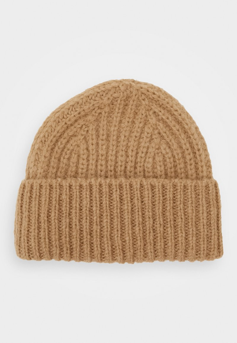 CLOSED - KNITTED HAT - Beanie - honey