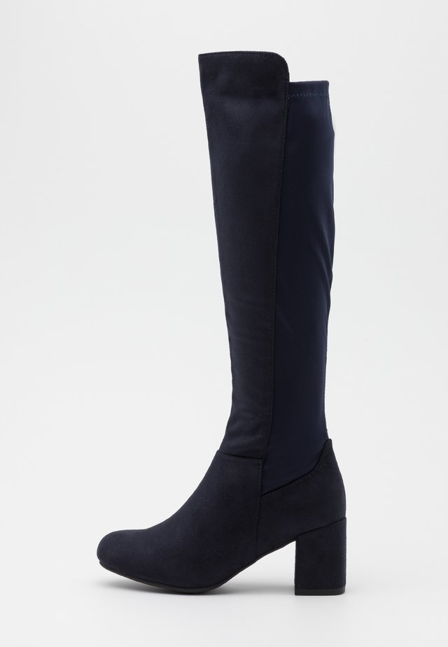 WIDE FIT WEDNESDAY - Boots - navy