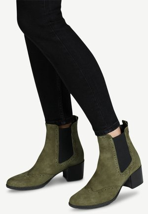 CHELSEA - Classic ankle boots - olive