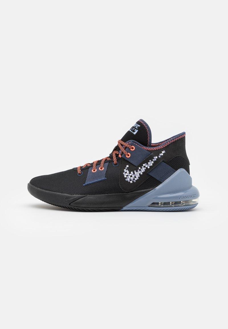 Nike Performance - AIR MAX IMPACT 2 - Basketbalové boty - thunder blue/football grey/black