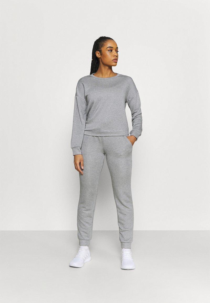 Even&Odd active - SET - Treningsdress - light grey