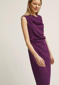 STOCKH LM - PETRA  - Robe fourreau - dark purple - 2