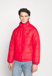 adidas Originals - PAD STAND PUFF - Winter jacket - scarlet - 0